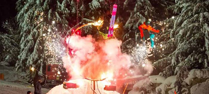 Whistler's Christmas Eve Fire & Ice Show