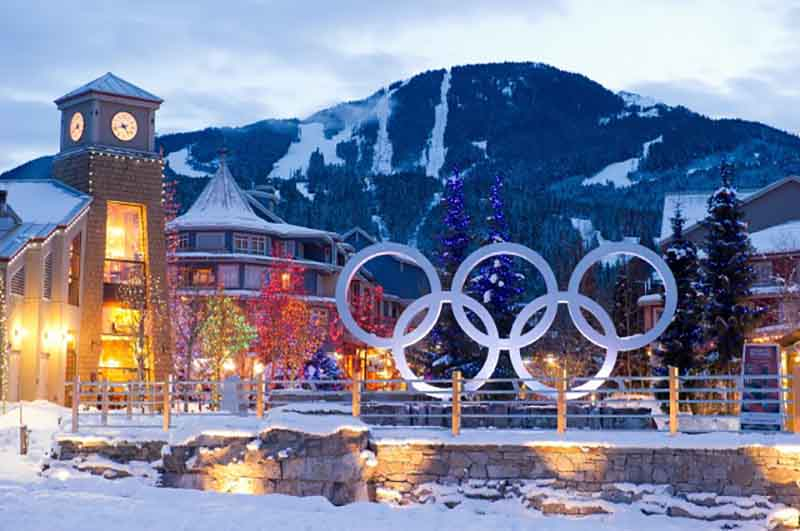 Whistler Olympic Plaza 2018 watch live