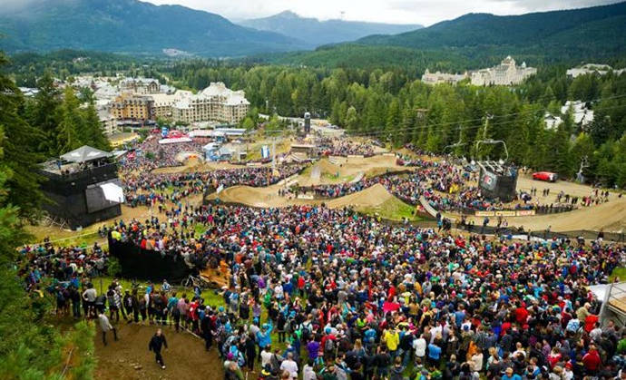 Crankworx Crowd