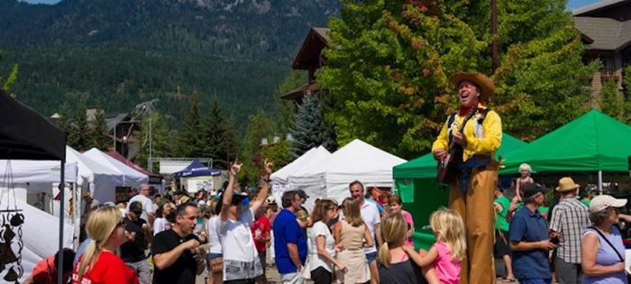Celebrate BC Day in Whistler