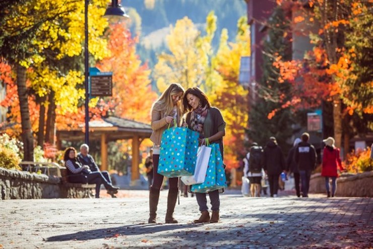 Whistler Fall Shopping Turkey Sale