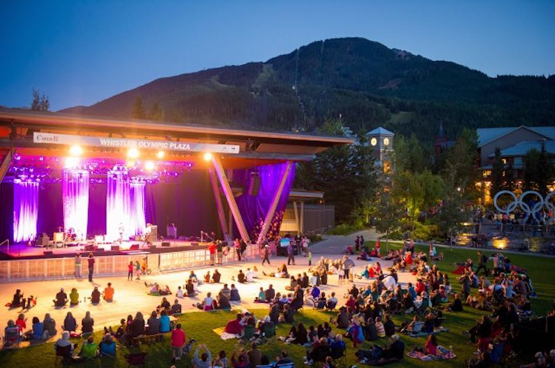 Whistler Olympic Plaza Canada Day Concert