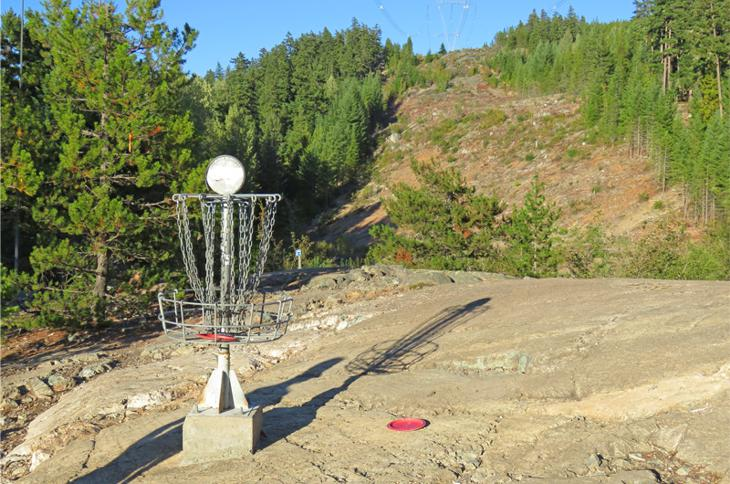 Whistler Disc Golf Hole